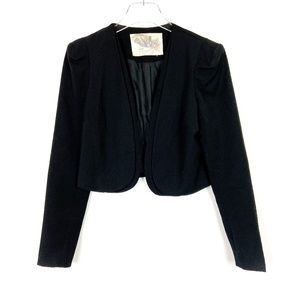 Urban Outfitters Kimchi Blue Black Cropped Blazer